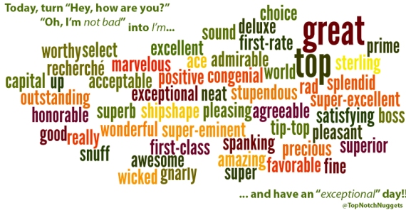 other words | Top Notch Living